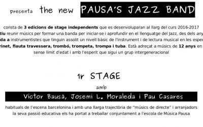 Pausa presenta: The New Pausa's Jazz Band!