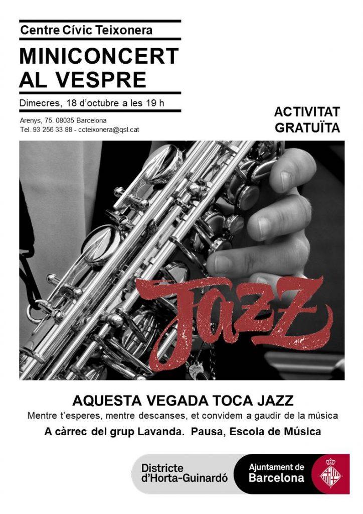 20171018_Miniconcert jazz