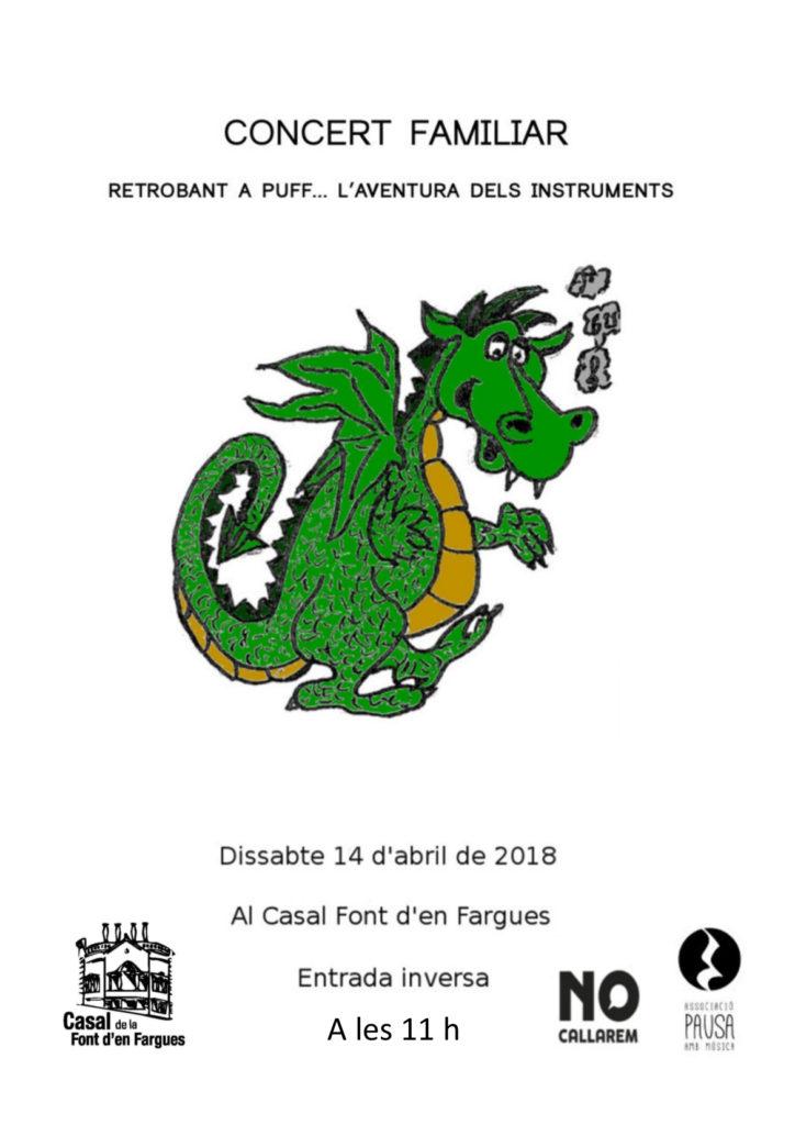 Cartell l'aventura dels instruments 14 abril
