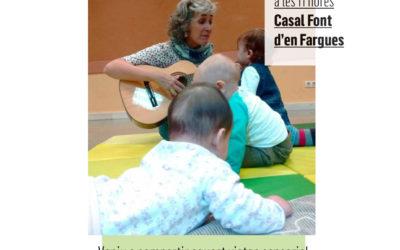 Taller familiar de créixer amb música