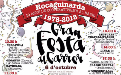 The Sweets al 40è aniversari de la cooperativa Rocaguinarda