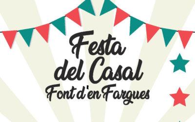 Festa del Casal de font d'en Fargues a la plaça de l'església