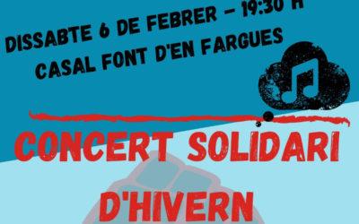 Concert solidari – Xarxa de suport del Carmel