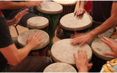 Cercles de Percussió a Pausa aquest mes de Maig amb el passaport edunauta