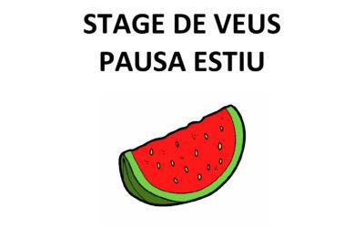 STAGE DE VEUS